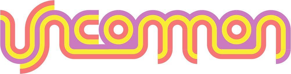 A colorful, trippy Uncommon logo